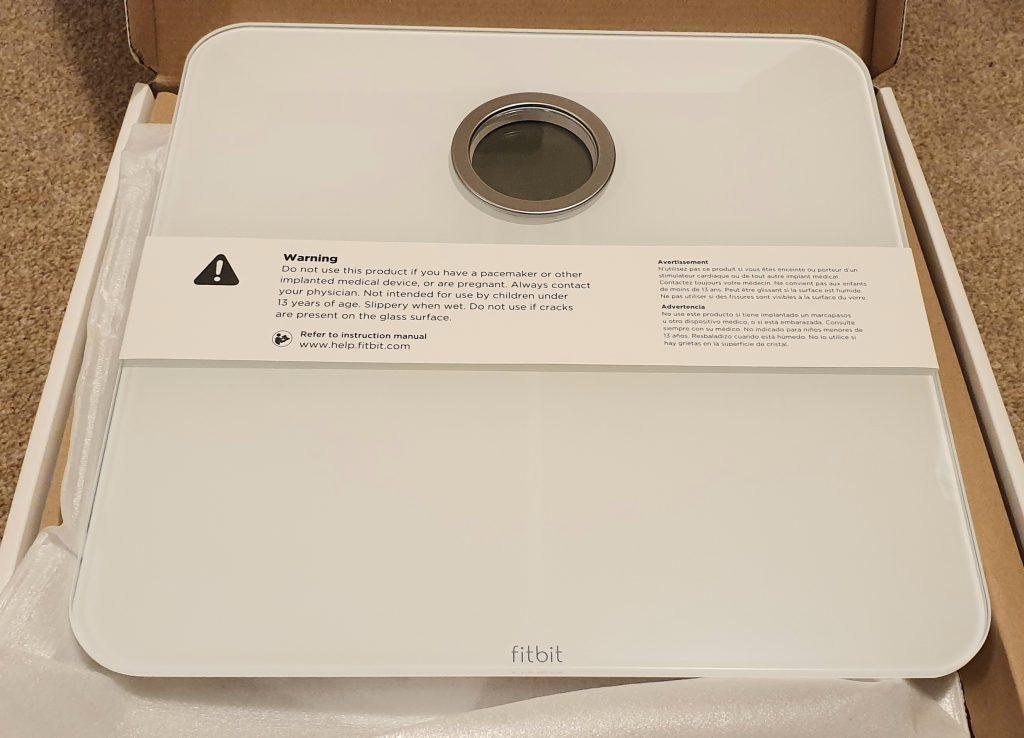 Fitbit Aria 2 - Warnings